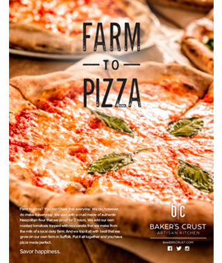 Baker's Crust Restaurant Marketing by BRITE